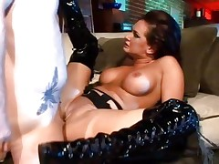 Tory Lane is ass screwed in her sexy boots
