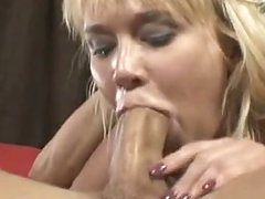 Breasty Dong Bitch Carly Parker Giving A Sloppy Mean Oral On Rock Hard Dong