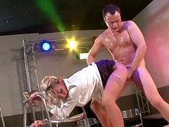 Club owner demands a strip show