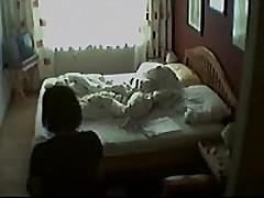naughty mom in bedroom