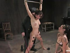 hot bound milf feels a unfathomable pleasure