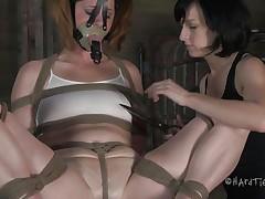 tied hard and punished harder
