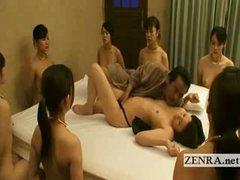 Nudist bondage Japan slaves turn on their old masters